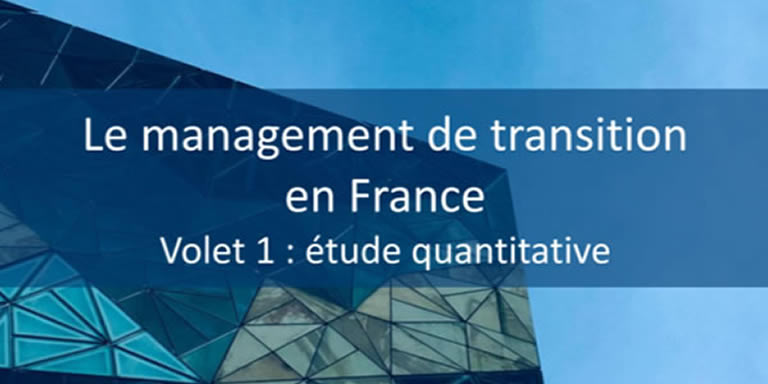 Etude : Le management de transition