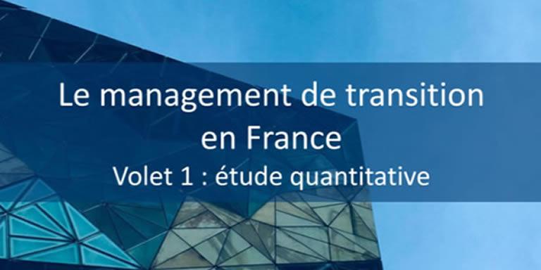 Etude : Le management de transition
